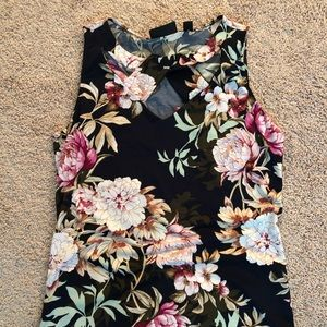 Floral tank on hold for macepu-_fashion